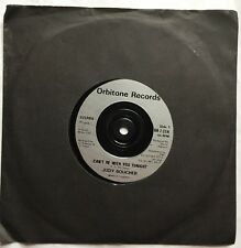 """Judy Boucher - Can't Be With You Tonight - Orbitone Records 7"""" Single OR-7-21"""