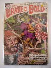 BRAVE AND THE BOLD #22 VG (4.0) VIKING PRINCE DC COMICS