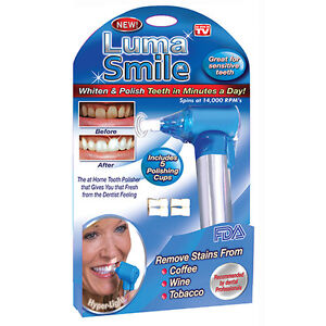 Luma Smile Teeth Whitening and Polisher