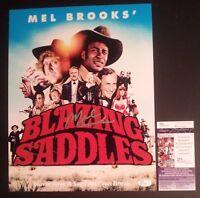 """MEL BROOKS Hand-Signed """"BLAZING SADDLES"""" 11x14 Photo (PROOF)(JSA COA) C"""