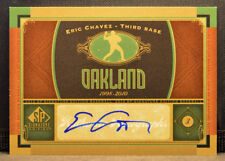 2012 UD SP Authentic Signature Edition ERIC CHAVEZ A's Autograph AUTO NM