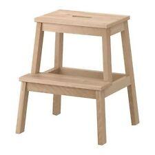 "IKEA Tritthocker ""BEKVÄM""  Sitzhocker Massivholz mit Grifföffnung Höhe 50cm"