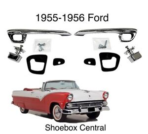 1955 1956 Ford Outside Exterior Door Handle Kit