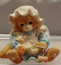 "Collectible Calico Kittens ""You Make It All Better"" Enesco No 102202"
