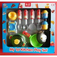 My First Kitchen Play Set - Childrens Creative Toy 1st More Pans Hot Plate Egg