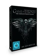 Game of Thrones - Staffel 4   DVD 5 Disc NEU OVP  Deutsche Originalversion