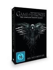 Game of Thrones - Staffel 4   DVD 5 Disc NEU OVP  Deutsche Originalversion
