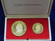 Australia 1970 Captain Cook - 200th Anniversary Gold MEDALLION Set. 2.5oz - 18ct