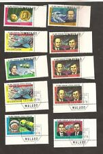 + Offer Guinea Equatorial Good Space Cosmos Russia Lot Margin / Corner Stamps