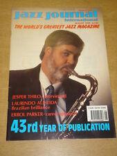 JAZZ JOURNAL INTERNATIONAL VOL 43 #8 1990 AUGUST JESPER THILO ERROL PARKER