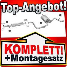 Auspuff DAEWOO MATIZ 0.8 1.0 Schrägheck 09.2000-2004 Auspuffanlage C20