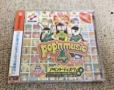 POP'N Music 4 Sega Dreamcast game New and Sealed Japan NTSC-J