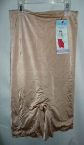 Assets by Spanx 1641 High-Waist Mid-Thigh Core Controller Shaping shorts L NEW