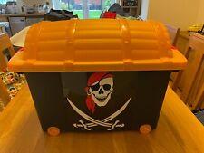 Pirate Treasure Chest Toy Storage Box - 57l