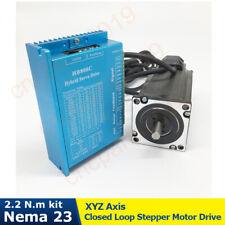 Nema23 22nm Hybird Closed Loop Stepper Motor Driver Encoder Easy Step Servo Kit