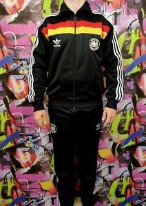 Germany National Football Team Soccer Suit Longsleeve Jacket Sweatpants Mens M