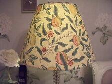 Handmade Coolie Lampshade William Morris Fruit Pomegranate Minor or Major fabric