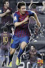 Poster FC BARCELONA - Lionel Messi - Collage 2011/12 NEU!!  (57598) +