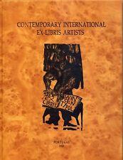 """XIV Volumen de la colección """"Contemporary International Ex-Libris Artist"""".Nº 1"""