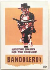 Dvd Bandolero! con James Stewart e Raquel Welch 1968 Usato