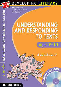 Understanding and Responding to Texts: For Ages 9-10 by Christine Moorcroft...