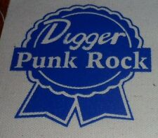 Digger Patch PBR Lawrence Arms Dillinger Four Ergs Movielife Bigwig Vandals AFI