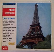 33T André VERCHUREN Disque LP AIRS DE PARIS Tour Eiffel FESTIVAL 8004 F Rèduit