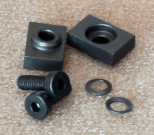 Spacer set for scope rings, 4mm height boost STEEL.