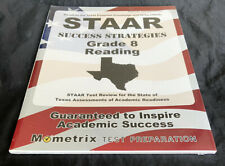 STAAR Success Strategies Grade 8 Reading Study Guide Texas By  Mometrix