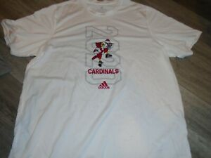 Louisville Cardinals Basketball team issued white shooting shirt size XL