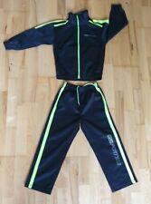 Trainingsanzug Sportanzug Jogginganzug schwarz/gelb Größe 128 von Grinario