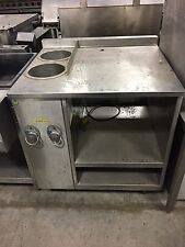 Wells Custom 2 well soup warmer counter Nsf Electric
