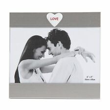 Glass Photo Frame Love Great Valentines Love Gift Ideas For Her & Him