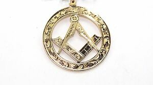 Pre owned 9ct Masonic Pendant    REDUCED FROM £108