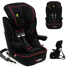 FERRARI Baby car seat I-Max GT - GROUP 1/2/3  9-36KG WITH ISOFIX  MADE IN FRANCE