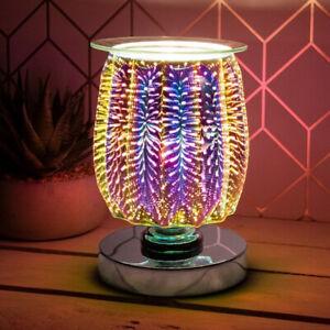 L&P Gifts Leonardo Desire Ridged Touch Sensitive Aroma Lamp Burst 17cm LP46086