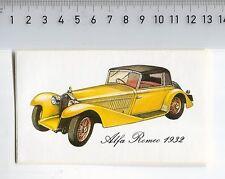 Decal/Sticker - Alfa Romeo 1932