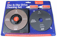 CD / VCD / DVD DRIVE LENS CLEANER & DISC CLEANER SET KIT CLEANING DISC + FLUID
