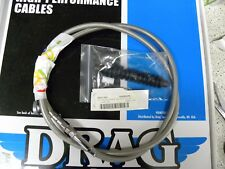 Drag Specialties 0652-1453 Braided High Efficiency Clutch Cable