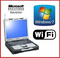 PANASONIC CF-30 TOUGHBOOK 4GB 1TB TOUCH RUGGED MILITARY DVD LAPTOP WINDOWS 7 PRO