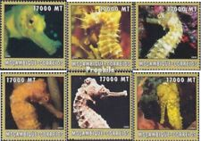 Mosambik 2632-2637 postfris MNH 2002 Wereld van Marine