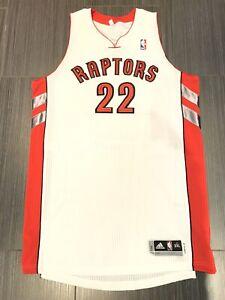 Signed Team Issue Adidas Rudy Gay Toronto Raptors NBA Basketball Jersey Sz 3XL+2