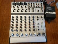 Behringer Mx 802A 8 Ch. Mixer with Orig. P/S