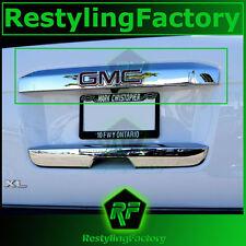 15-16 GMC Yukon+XL Triple Chrome Upper Liftgate Tailgate Handle Accent Cover2016