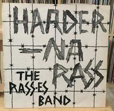 THE RASSES BAND - Harder Na Rass! Dub Style. UK warrior LP. 1979 Reggae Dub