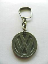 VW Volkswagen Key Chain Key Ring Silver Color Metal