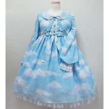 Angelic Pretty Misty Sky OP Replica Lolita Dress In Sax