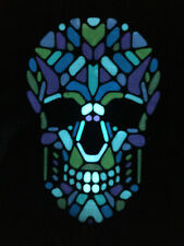 SOUND MUSIC Activated LED LIGHT UP FLASHING DJ PARTY TILE SKULL FACE MASK