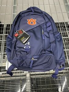Auburn Tigers Team Issued Player Issued Under Armour Backpack