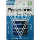 Panasonic General Purpose Batterie AAA Micro R03 R03RZ, 4er Pack